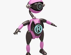 3D model Robot 005 NOT RIGGED
