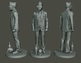 3D print model Dancing coffin meme A 002