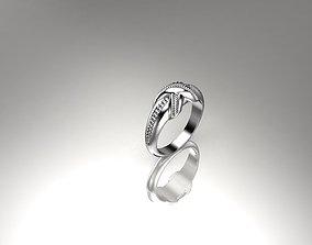 3D print model Twisted Design Ring