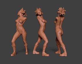 Clay Girl 9 3D printable model
