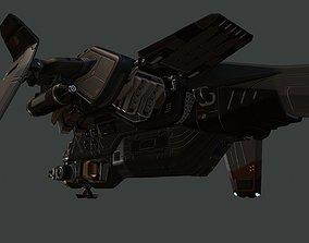 3D asset Phantom Aircraft