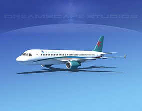 3D asset Airbus A320 First Choise