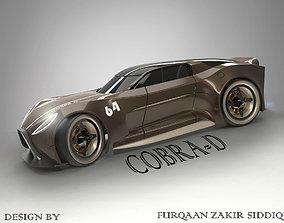 cobra d concept car 3D model