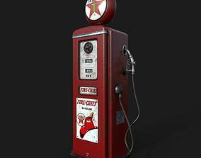3D Vintage Gas Pump pump