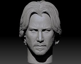 John Wick Keanu Reeves 3D Print actor