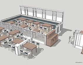 Restaurant 3D walabi