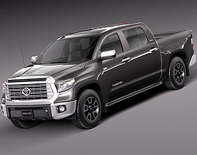 3D model Toyota Tundra Limited 2014
