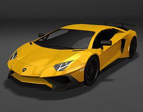 Lamborghini Aventador LP750-4 3D model