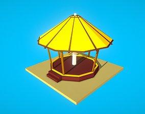 HIE Gazebo N1 3D asset