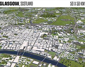 Glasgow Scotland 3D