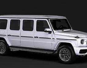 Mercedes AMG G 63 W463 2020 Limousine 3D model