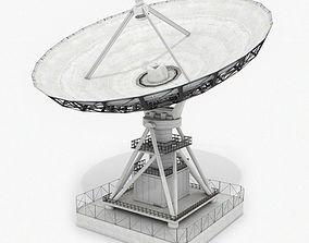 VLA Radio Telescope 3D model