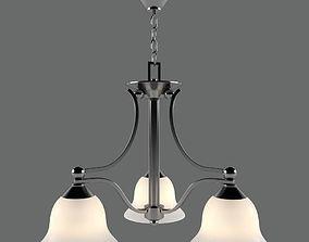 3D Hanging chandelier Elstead BOLLA HK BOLA 3
