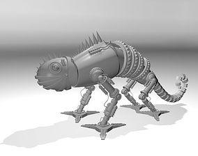 3D model Robotic chameleon