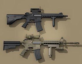 M4 rifle 3D
