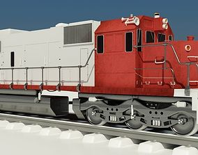 3D print model Train Engine SOO 777