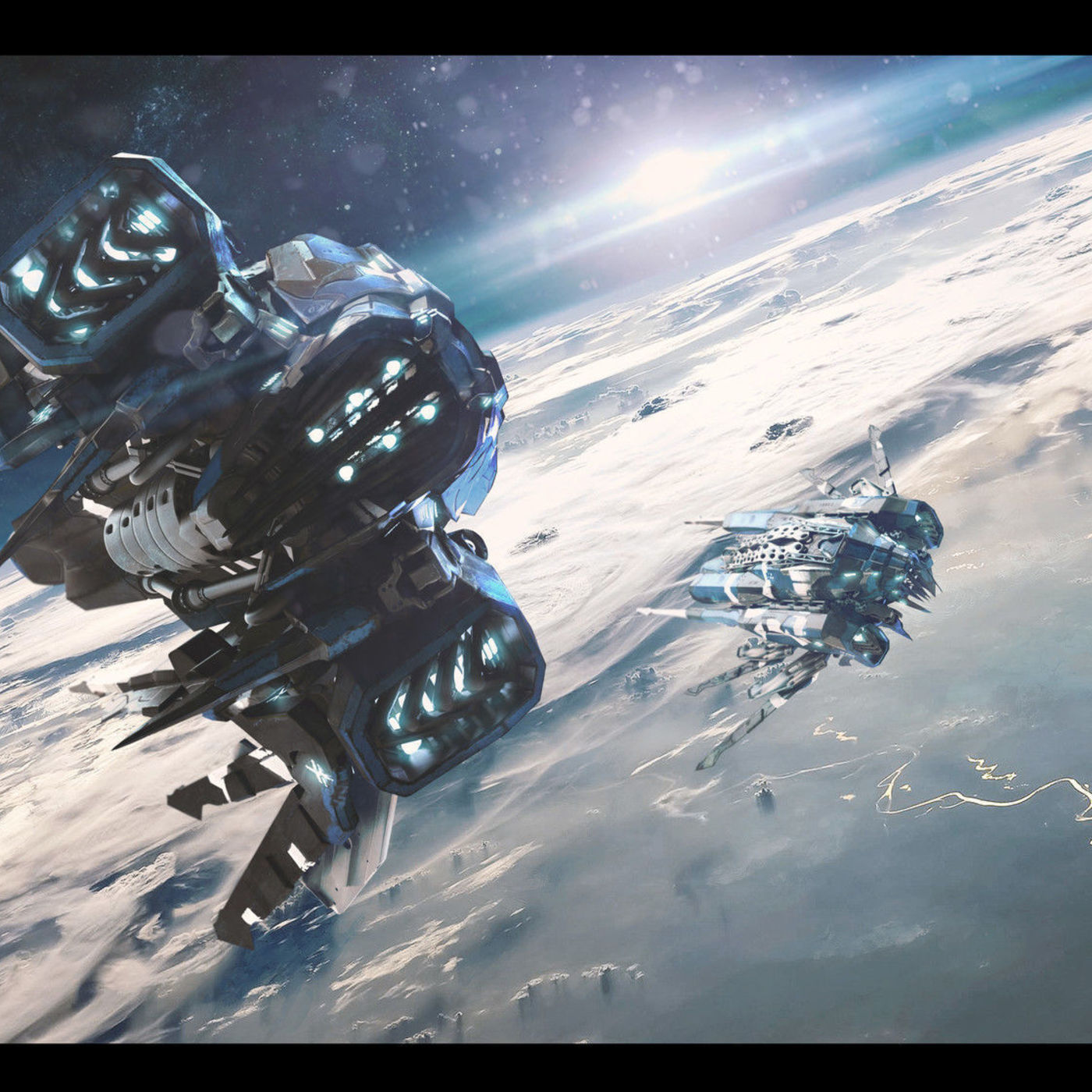 Orbital Patrol by Carlos Andrés Osorio Cardona