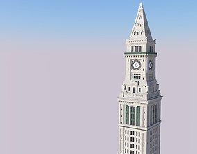 3D printable model Boston Custom House