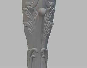 3D printable model A leg