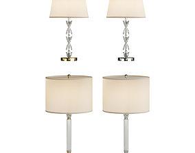 glass Table Lamp Glass 3D model