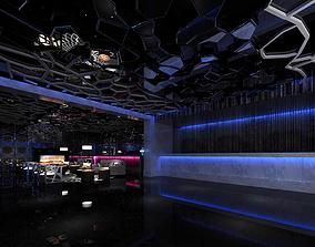 Hotel entertainment KTV bar disco Sing 0135 3D model