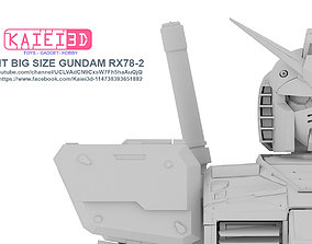 3D printable model 1 per 20 scale gundam RX78 2