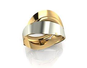 3D printable model ring F 449
