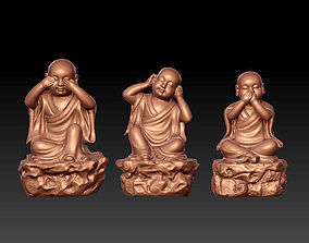 3D Wise Monks