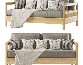 Tribeca outdoor sofa 3D model