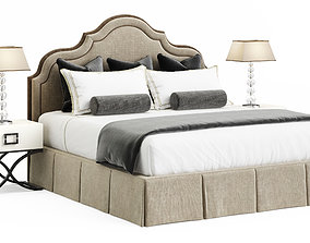 3D model Tosconova Bed Grace 180