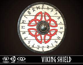 3D asset Viking Shield 09