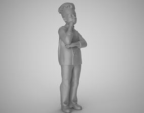 3D print model Cook Thinks