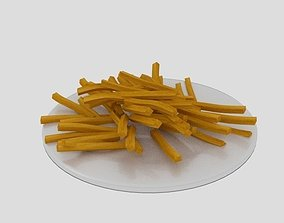 3D model French Fries Dish