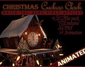 Christmas Cuckoo Clock 3D