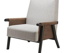 Christian liaigre voluto armchair 3D