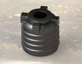 Mini Storage Water Tank 3D printable model