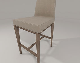bess stool by calligaris 3D model