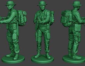 Modern Jungle Soldier Action MJS1 3D printable model