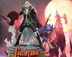 3D printable model ALUCARD CASTLEVANIA TRANSFORMATIONS