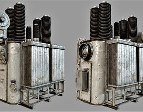 3D asset Old Rusty Transformer PBR
