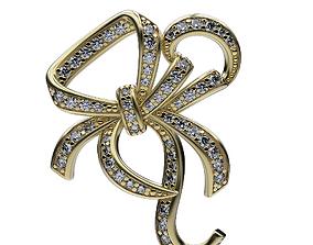 3D print model Earrings Bow-Knots