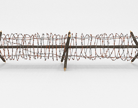 3D Barb Wire Obstacle