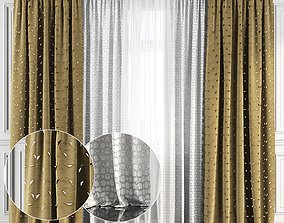 Curtain Set 128 3D