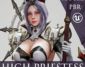 High Priestess - Game Ready 3D model