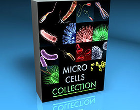 3D Micro cells models collection