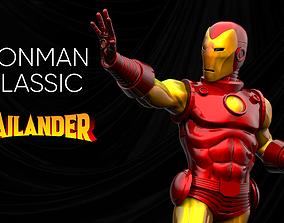 3D printable model Iron Man Classic Armor