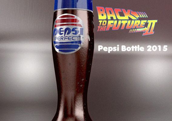 Pepsi Bottle BTTF II