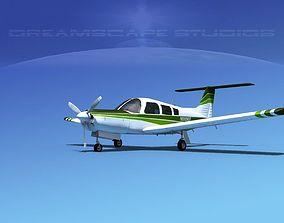 3D Piper PA-28R-201 Arrow III V04