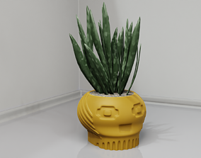 plant pot holder 98 3D printable model