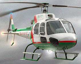 Eurocopter AS 550 Military Police 3D model